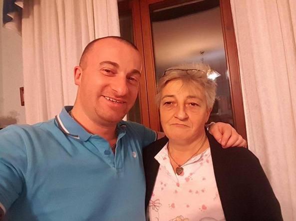 Raffaele Rullo e sua madre Antonietta Biancaniello (Photo Masi)
